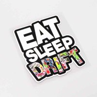 "Наклейка ""Eat Sleep Drift"""